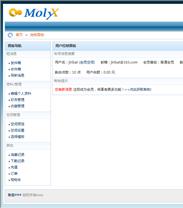 帝国cms仿molyx3用户面板