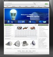 帝国cms适合各种外贸英文企业网站模板黑白色
